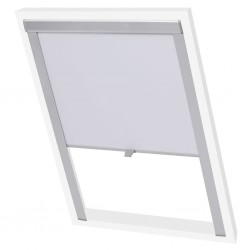 vidaXL Camisa de vestir de hombre talla XXL rayas blanca y azul claro