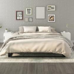 vidaXL Camisa de vestir de hombre a cuadros blanca y azul claro S