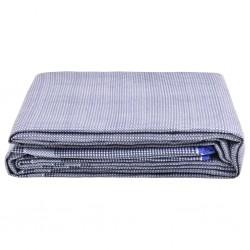 vidaXL Mesa consola de madera maciza reciclada 110x35x76 cm