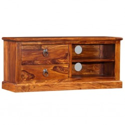 vidaXL Mesa de centro madera de mango 100x60x35 cm