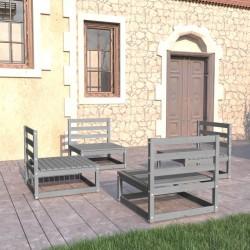 vidaXL Mesa de comedor de madera maciza reciclada 80x82x76 cm