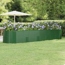vidaXL Figura Pensador decoración de aluminio plateado