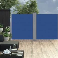 vidaXL Trona de bebé azul y gris