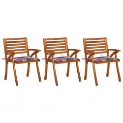 vidaXL Sillas de comedor 2 unidades madera maciza reciclada