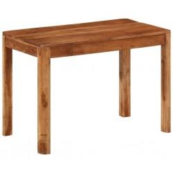 vidaXL Cómoda con 2 cajones y 1 armario de madera rugosa de mango