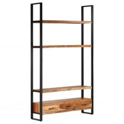vidaXL Mesa de centro de madera maciza reciclada 60x60x40 cm