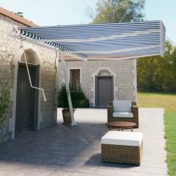 vidaXL Baúl de almacenamiento de madera de acacia