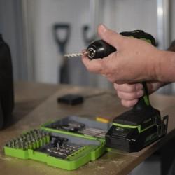 vidaXL Sillón de tela amarillo
