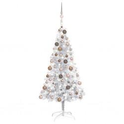vidaXL Zapatero con 3 estantes madera maciza de roble 100x27x59,5 cm
