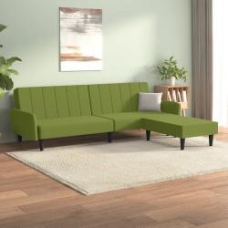vidaXL Set de mesas de centro madera reciclada maciza tres unidades