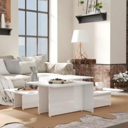 vidaXL Mesa consola de madera maciza reciclada