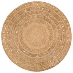 vidaXL Cajas de almacenamiento 2 unidades tela chindi multicolor