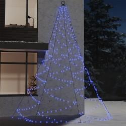 vidaXL Banco de madera maciza de acacia con tela chindi multicolor