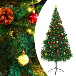 vidaXL Lámpara de techo con 2 bombillas de filamento LED 8 W
