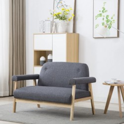 vidaXL Mesa de centro de madera reciclada 110x60x45 cm