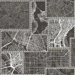 vidaXL Perchero de madera maciza reciclada 60x15 cm