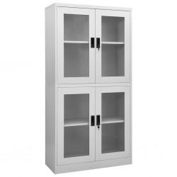vidaXL Mesitas de noche de bambú marrón oscuro 2 unidades 60x60x40 cm