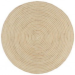 vidaXL Zapatos botines de hombre de cordones marrón T 42 cuero PU
