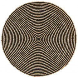 vidaXL Zapatos botines de hombre de cordones marrón T 43 cuero PU
