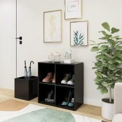 vidaXL Mesa auxiliar de madera maciza reciclada 60x40 cm