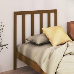 vidaXL Mesa consola de madera maciza de pino 80x30x72 cm negra