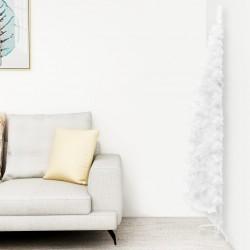 vidaXL Taburete cuero de cabra auténtico 60x30x50 cm