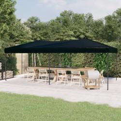 vidaXL Banco de cuero de vaca auténtico estampado de rombos