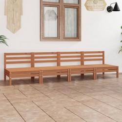 vidaXL Mesa de salón comedor de madera maciza reciclada y acero 180 cm