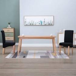 vidaXL Mesa de centro de madera maciza reciclada 60x45 cm blanco