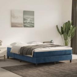 vidaXL Mesa de centro madera maciza reciclada base blanca 60x60x33 cm