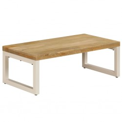 vidaXL Aparador con estantes de madera de mango maciza 65x30x180 cm