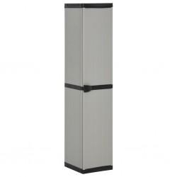 vidaXL Alfombra tejida a mano Chindi de algodón antracita 120x170 cm