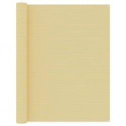 vidaXL Alfombra tejida a mano Chindi de algodón beige 120x170 cm
