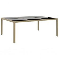 vidaXL Alfombra tejida a mano Chindi de algodón burdeos 200x290 cm