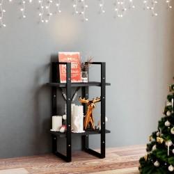 vidaXL Alfombra tejida a mano Chindi de algodón crema 160x230 cm
