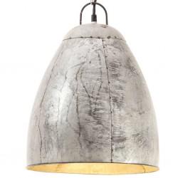 vidaXL Alfombra shaggy peluda de cuero auténtico 80x160 cm marrón