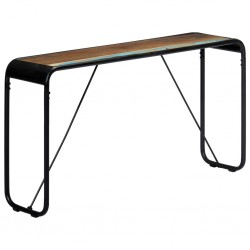 vidaXL Alfombra shaggy peluda de cuero auténtico 80x160 cm gris