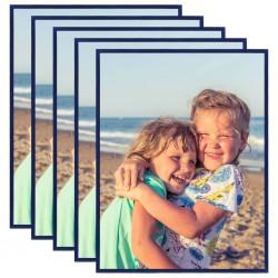 vidaXL Alfombra shaggy peluda de cuero auténtico 160x230 cm gris