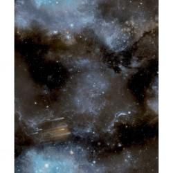 vidaXL Manta a cuadros 160x210 cm algodón negra