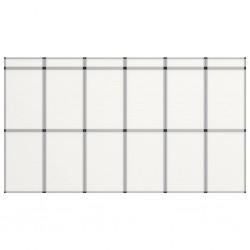 vidaXL Manta a cuadros 220x250 cm algodón negra