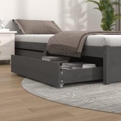 vidaXL Manta a cuadros 160x210 cm algodón rosa