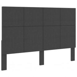 vidaXL Banco de madera maciza y lino gris claro 110x38x48 cm