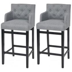 vidaXL Mesa de bar madera maciza reciclada marrón oscuro 60x60x107 cm