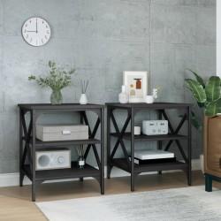 vidaXL Unidad de almacenaje con 5 cestas 25,5x37x10 cm jacinto de agua