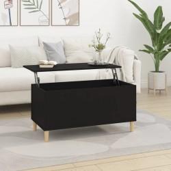 vidaXL Mesa de centro madera maciza acabado de sheesham 110x55x35 cm