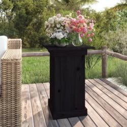 vidaXL Bancos de almacenamiento 3 piezas madera y acero 112x37x45 cm