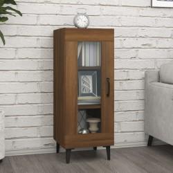 vidaXL Persiana enrollable de bambú marrón 100x220 cm