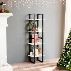 vidaXL Alfombra con forma 110x150 cm estampado de vaca negro