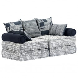 vidaXL Perchero de pared BEER CHEAPER con 6 ganchos 120x40 cm