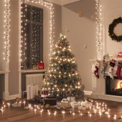 vidaXL Biombo divisor plegable 200x170 cm Nueva York blanco y negro